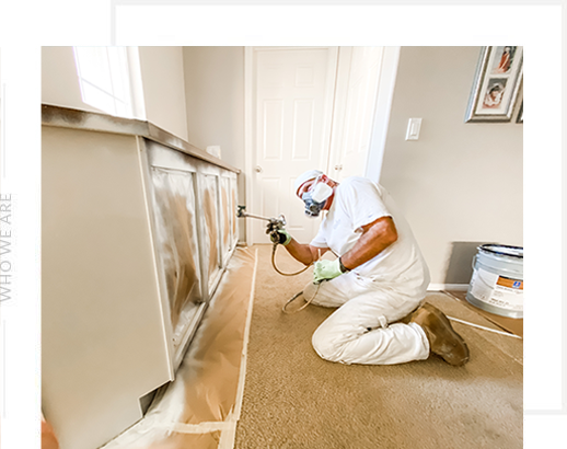 Cabinet Painter in San Diego